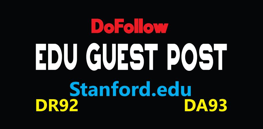 Publish EDU Guest Post on Stanford -DA93, DR92-DoFoIIow Link