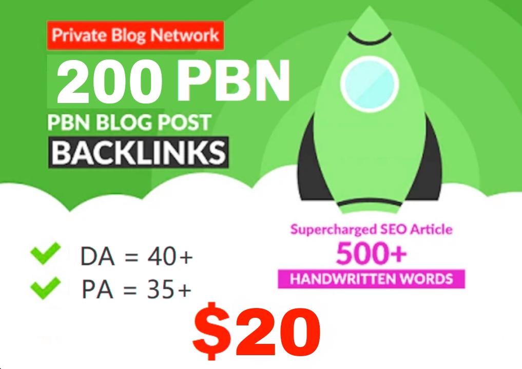 Build premium 200+ PBN Backlink presentation page web 2.0 with never-ending dofollow Trustfollow