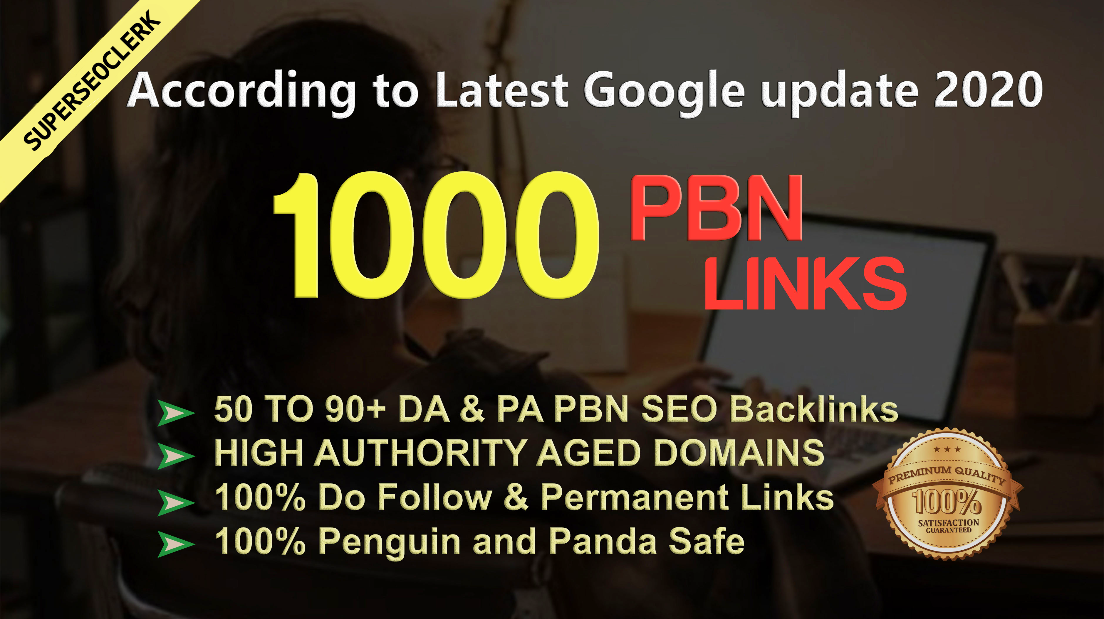 Get Extream 1000 PBN Backlink in your site hompage with HIGH DA/PA/TF/CF with novel site
