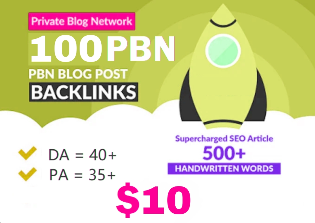 Production Primium 100+ Backlink with DA 40+ PA 40+,  DOFOLLOW in your site with 100+ exceptional