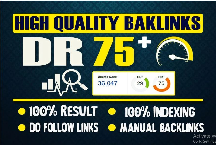 I will make 30 DR 60 to70+ permanent homepage pbn backlinks