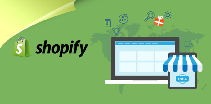 I will create shopify dropshipping store and shopify website