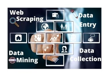 I will do web scraping,  data mining,  as per your niche