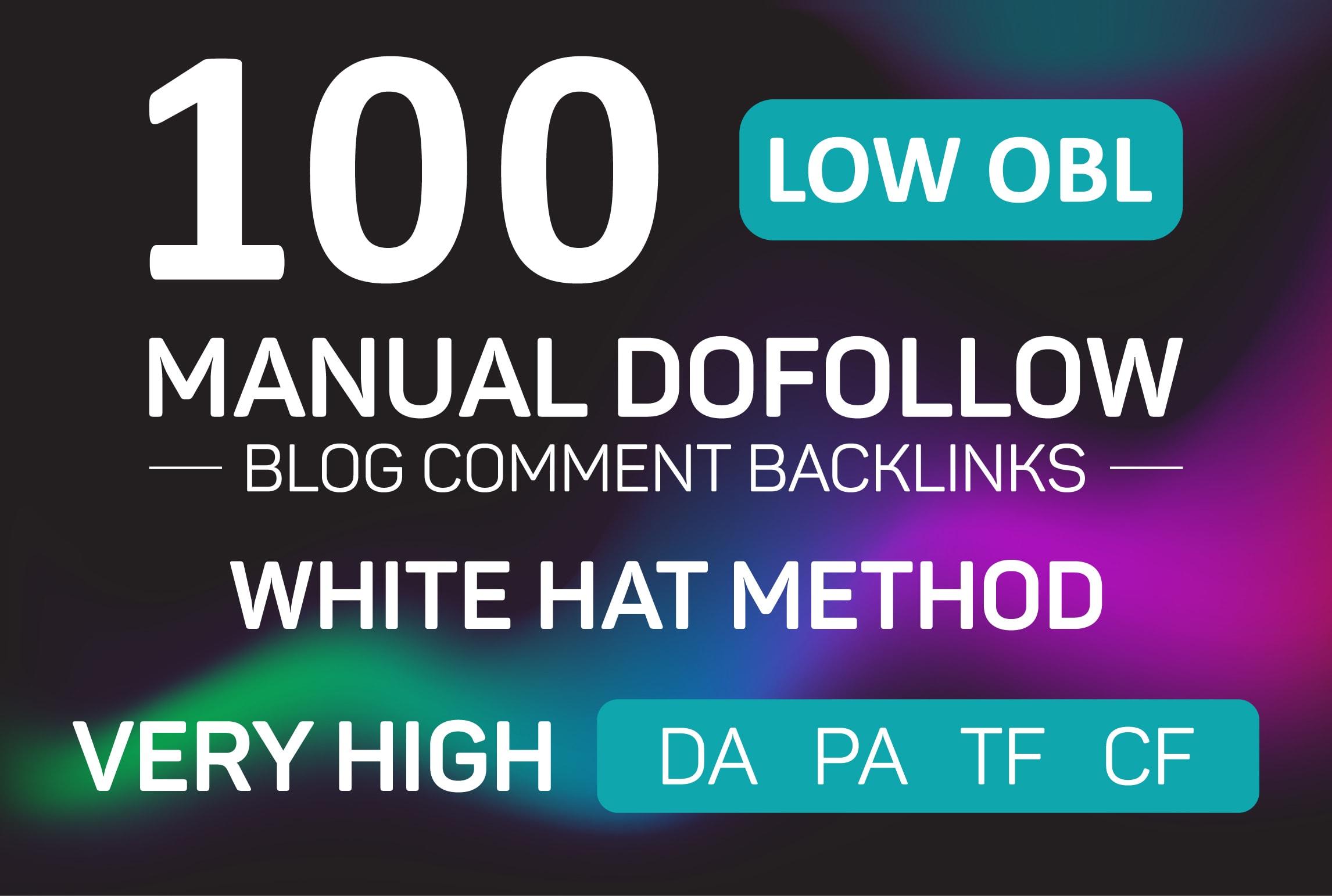 I will build 100 permanent dofollow SEO backlinks link building service