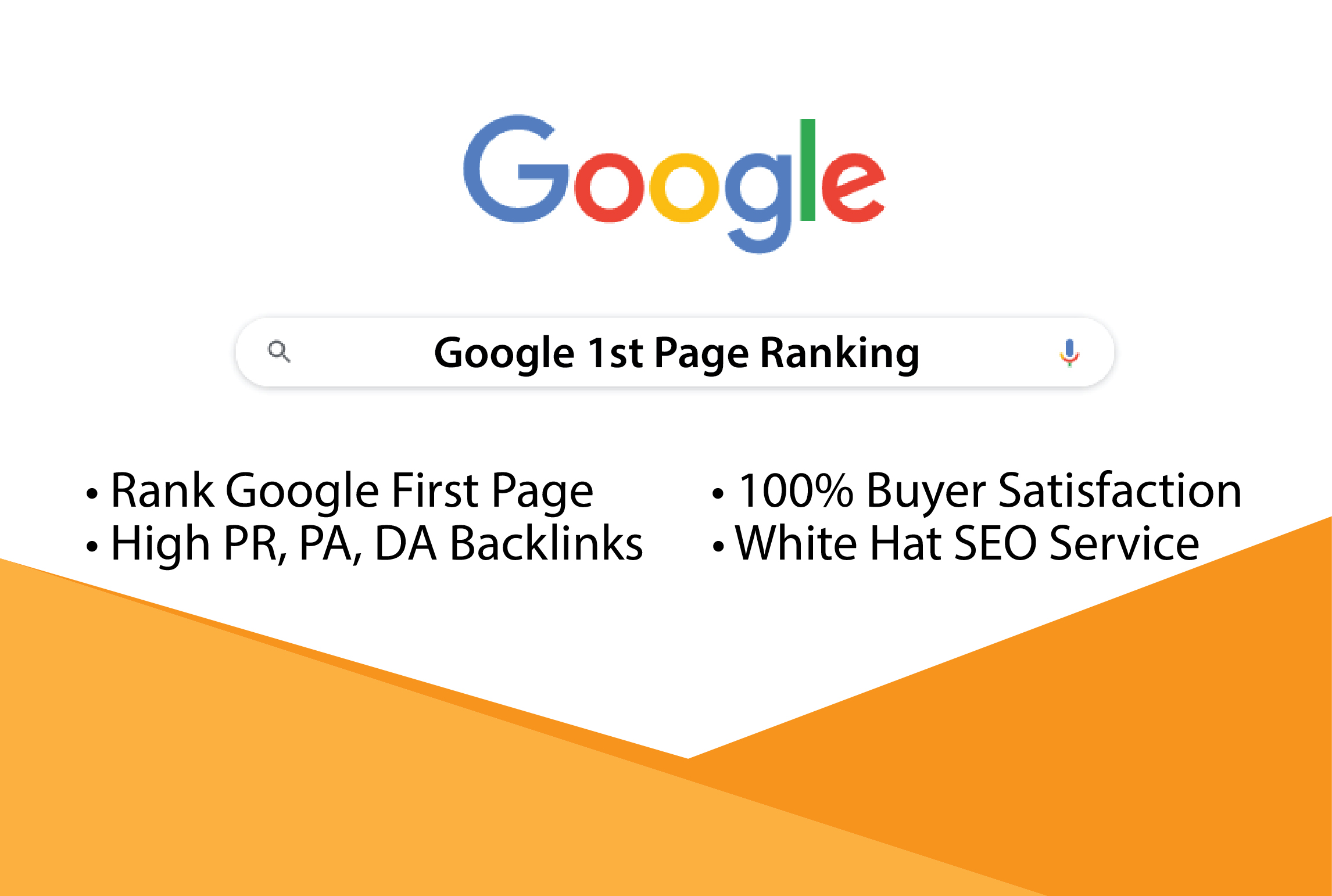 I will provide you Rank your website 1st page on google
