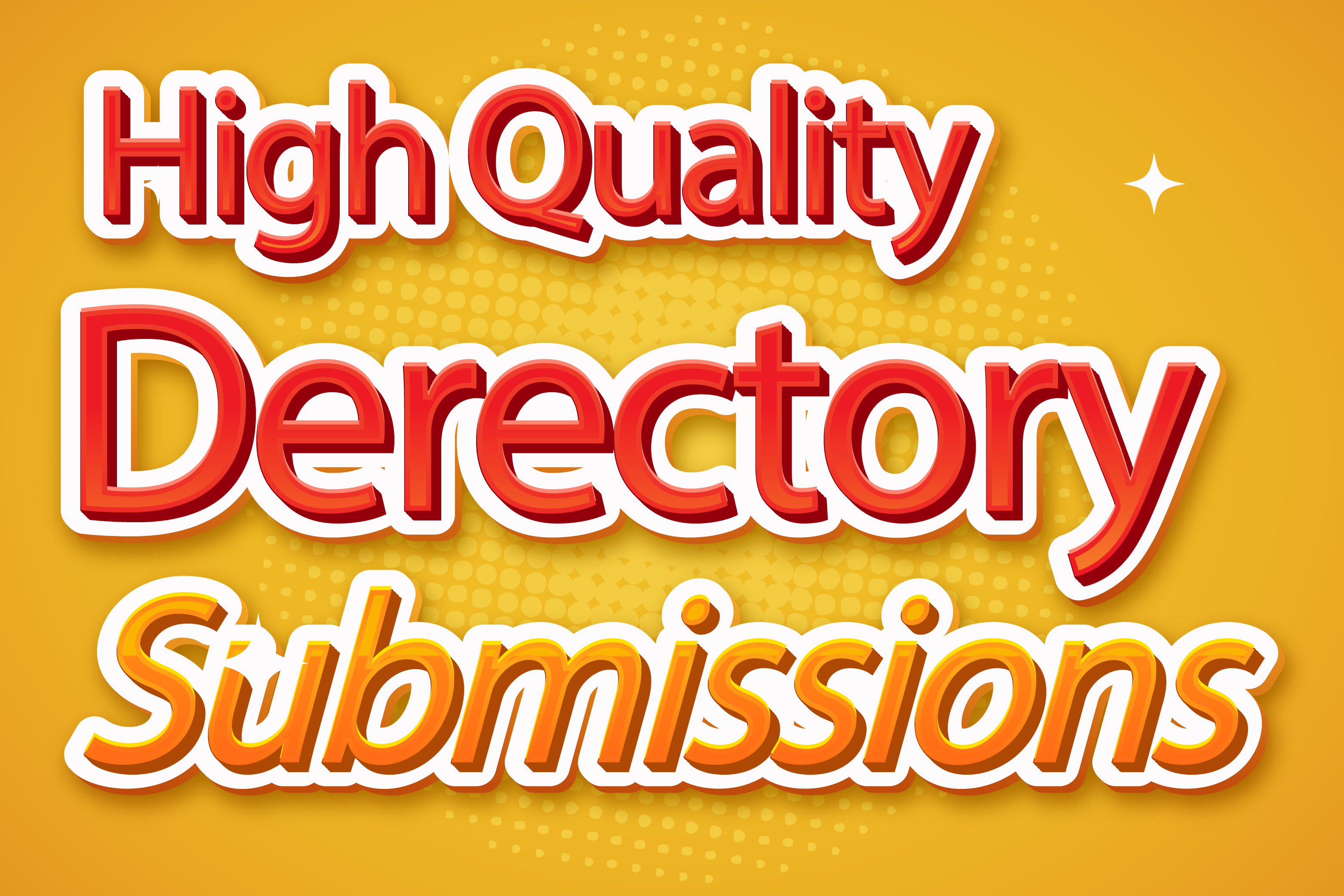 I will do directory submission to 100 high authority websites manually