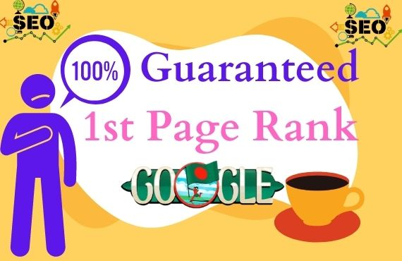 Guaranteed Targeted Traffic 1st page ranking on Google of your website