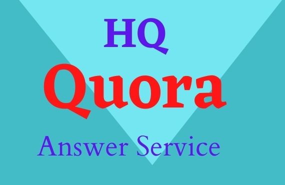 I will give your keyword related High Quality 3 Quora answer