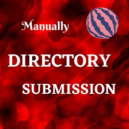 I will build 100 Directory submission Manually