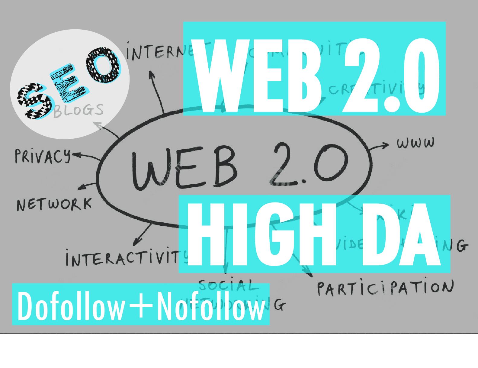 I will create manually web 2.0 backlinks
