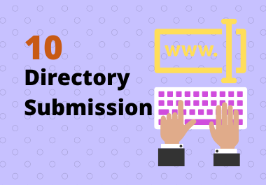 Manually create 10 Directory Submission backlinks