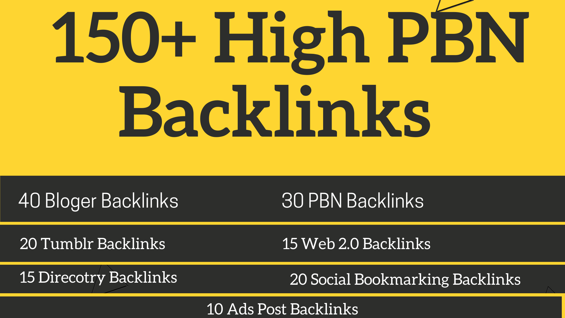 Boost Google 1st page 150+ High PBN Backlinks