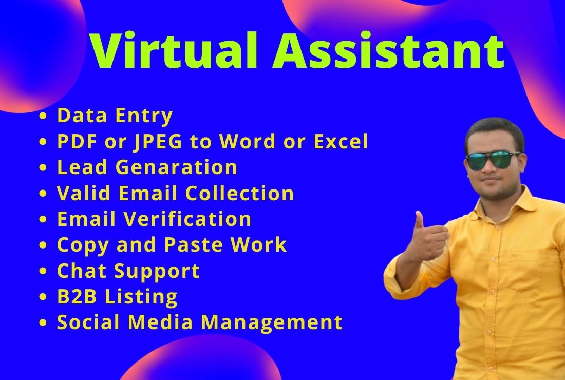I will be your individual virtual assistant