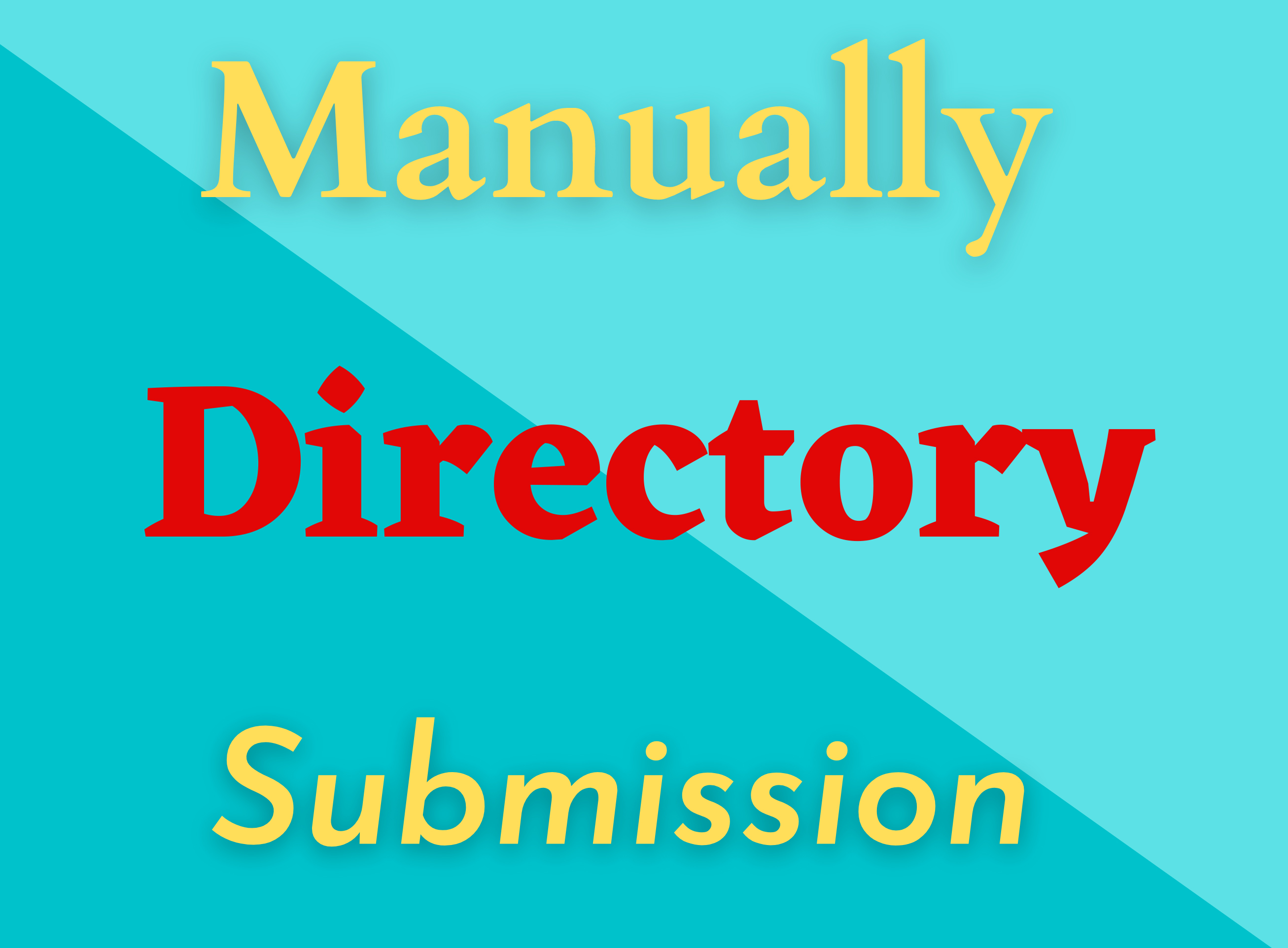 I will Provide 100 Niche Relevant Directory Submission Backlinks