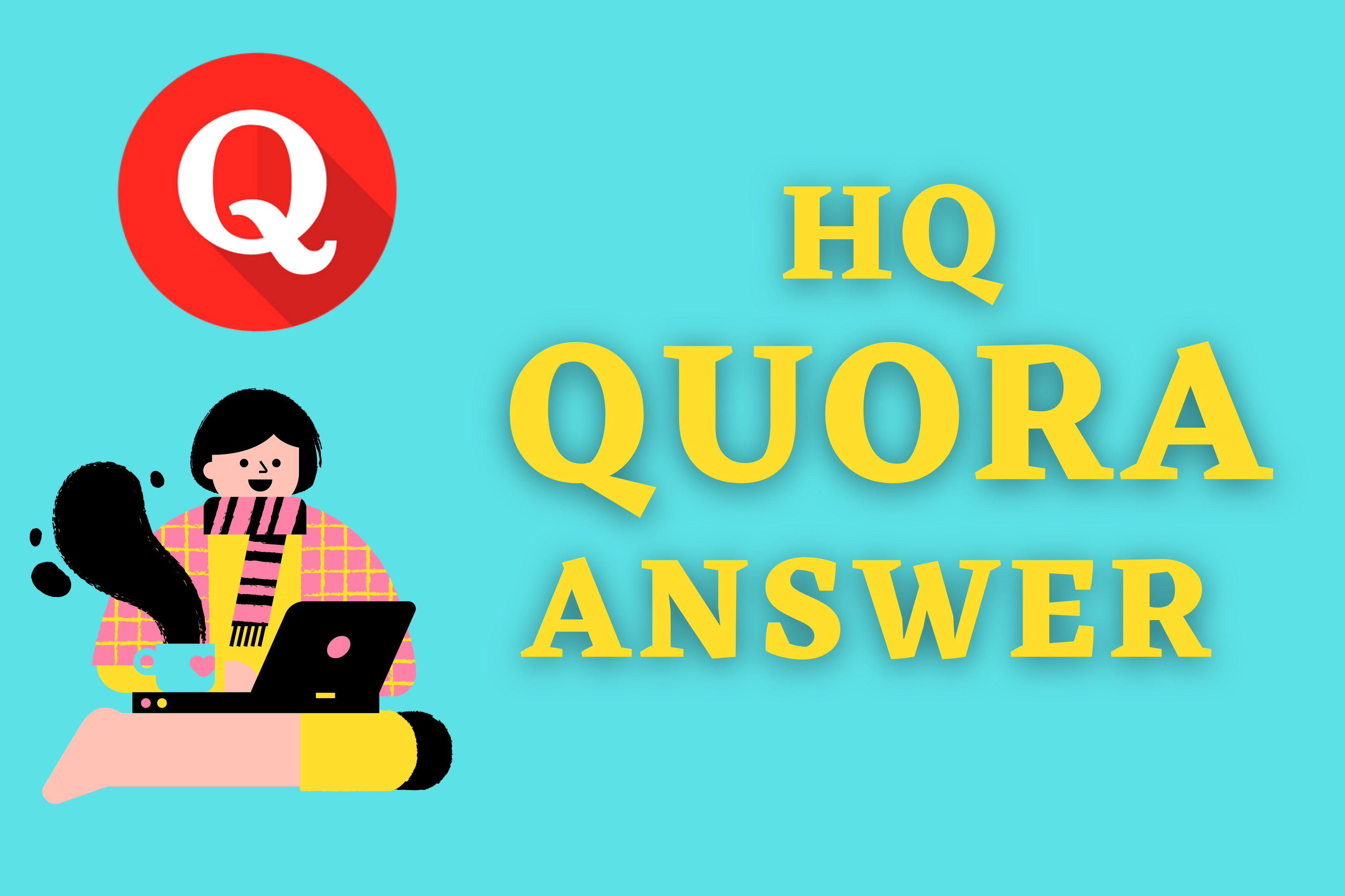 I Will Promote Your Website 3 High Quality Quora answer with your Keywords & URL