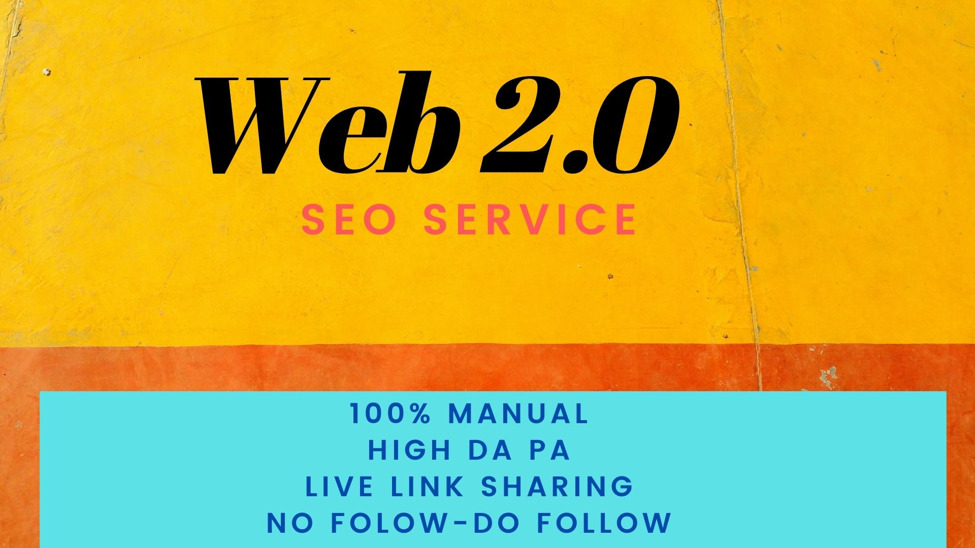 I will create 50+ Web2.0 Backlinks manually on high authority sites