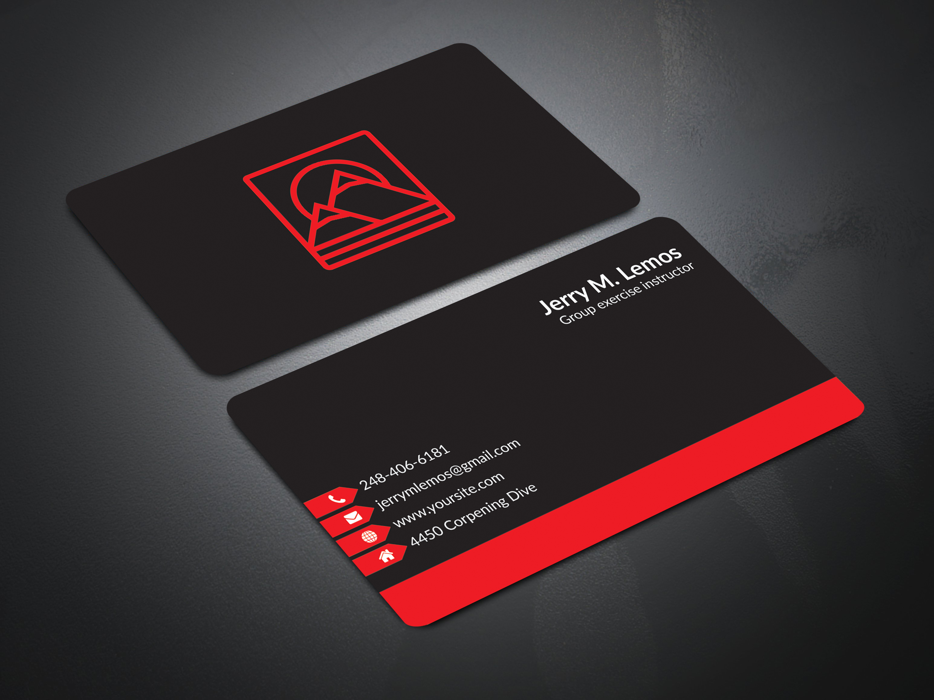 I Will Design Minimalist Business Card Within 6 Hours