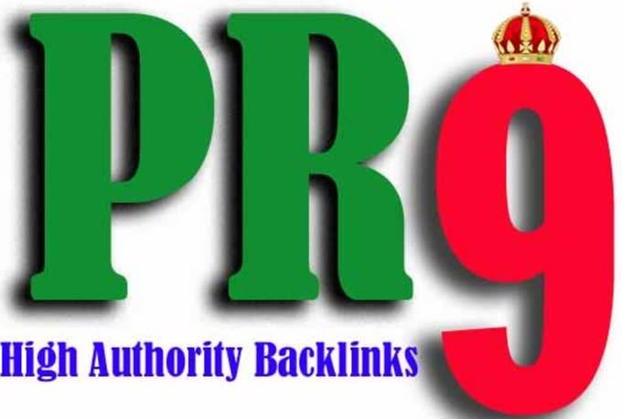 Create 100 pr7 to pr9 seo high authority backlinks for 2020 google rankings