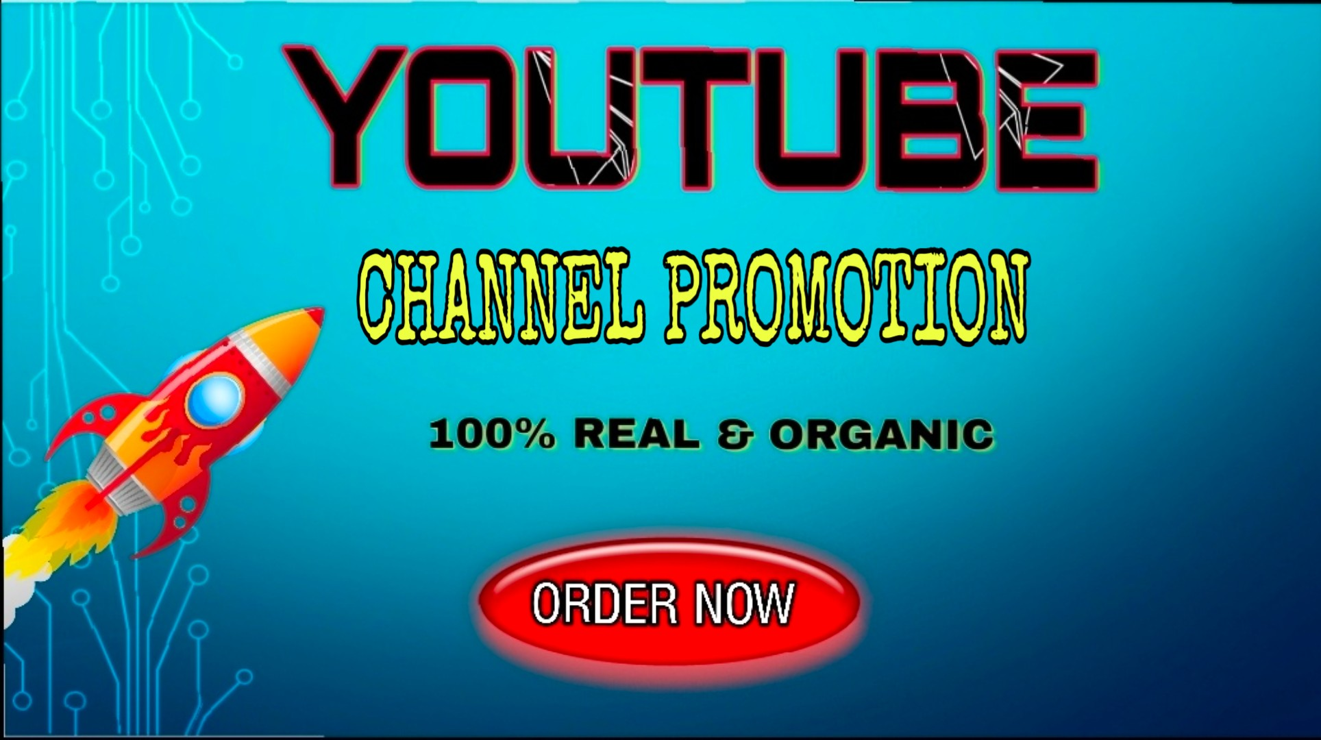 High Quality Channel Promotion Social Media Marketing