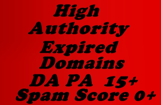 I will provide you with 10 quality expired domains