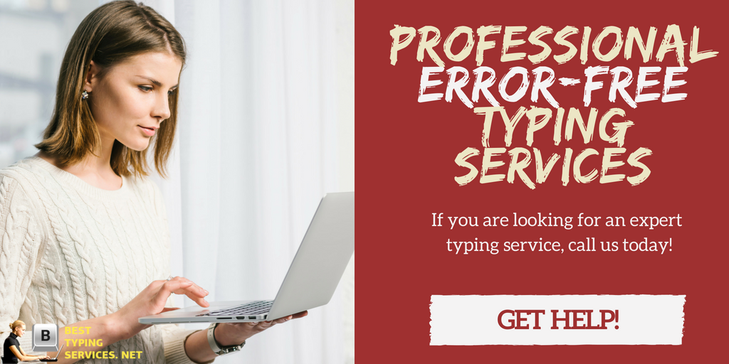 I will do a professional Data Entry typing service
