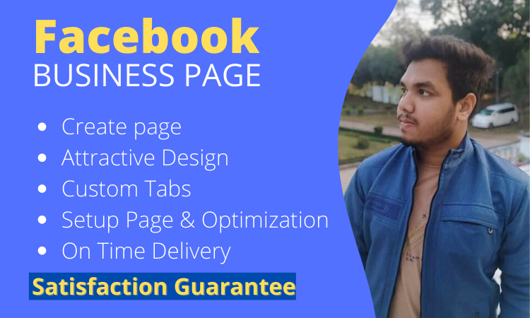 I will create and setup your Facebook business page perfectly