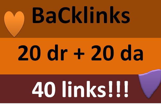 40 links package fro your website to ran first page