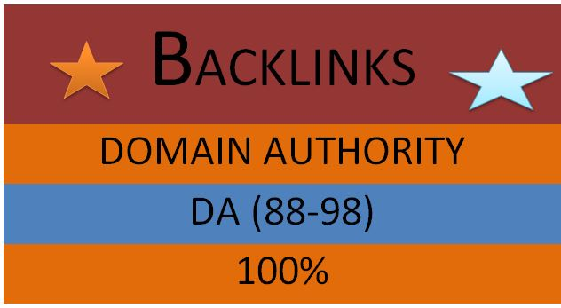 i will do 30 high da backlinks for high rank