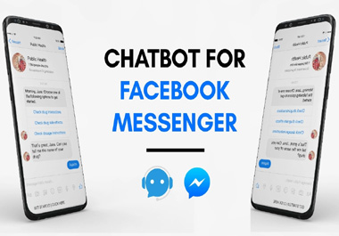 I will create a chatbot for Messenger,  Website Using Manychat,  Chatfuel