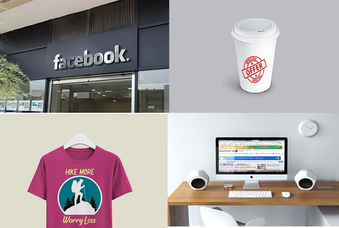 I will do creating psd logo mock up and modern designer web pages mock up.