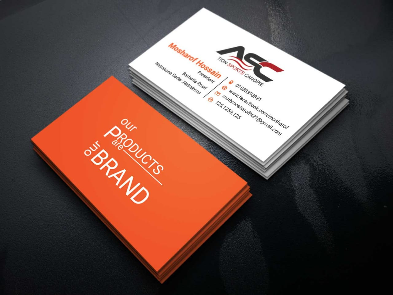 Business card Desing Id card design 2 concept