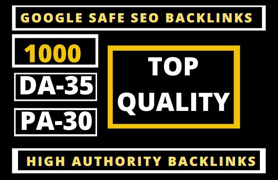 1000 Permanent PBN Backlinks Web2.0 with High TF/CF/DA 40/PA Do-follow Links Homepage Unique website
