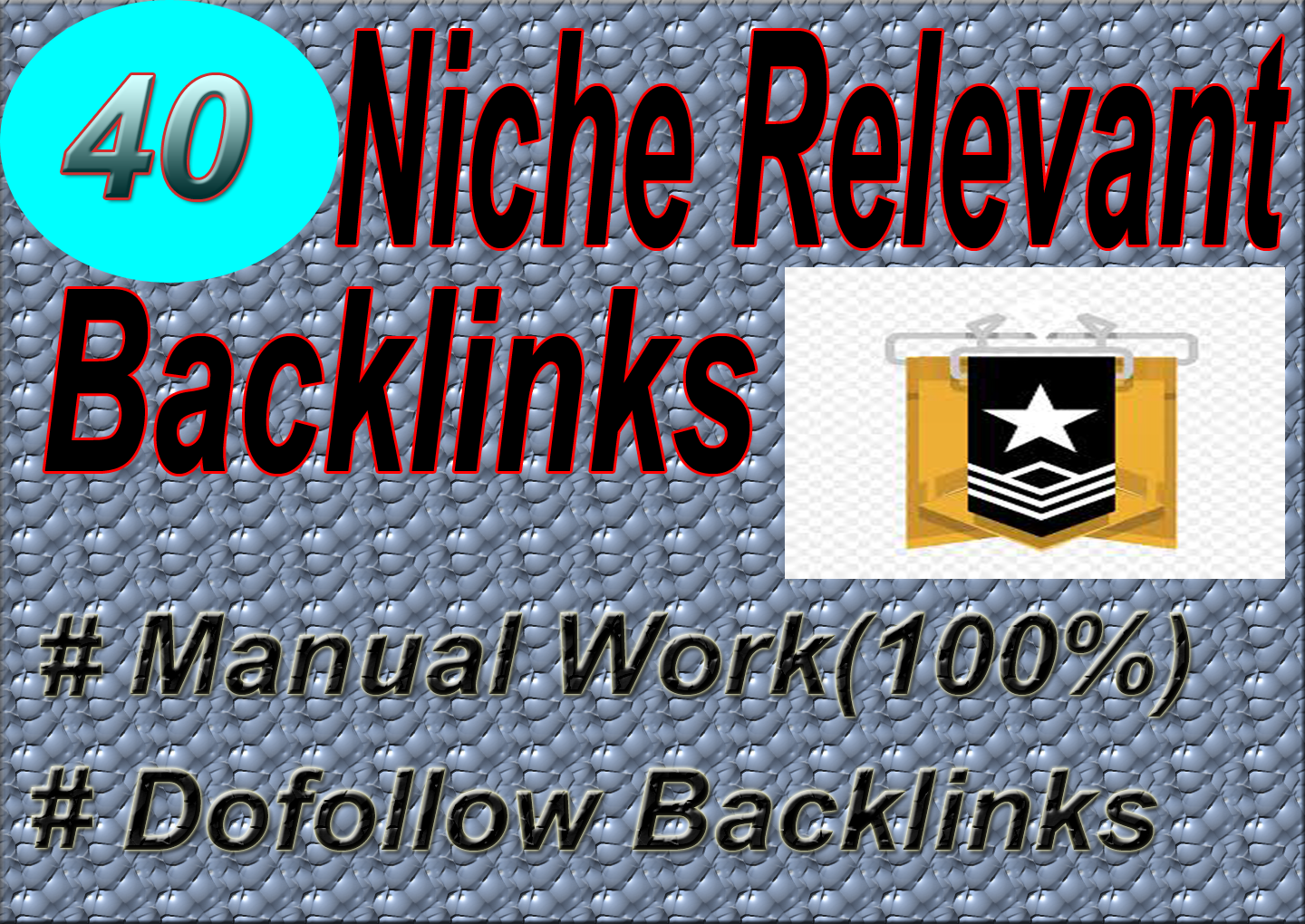 I will create 40 niche relevant blog comments seo backlinks