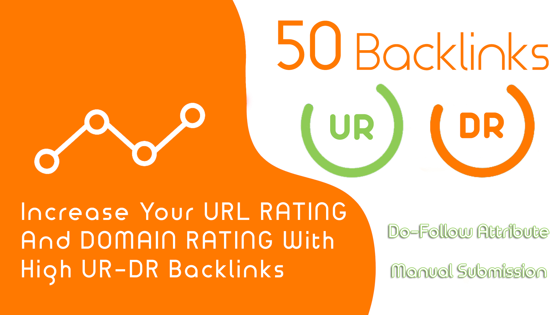 I Will Create 50 High Domain Rating DR And High URL Rating UR Backlinks