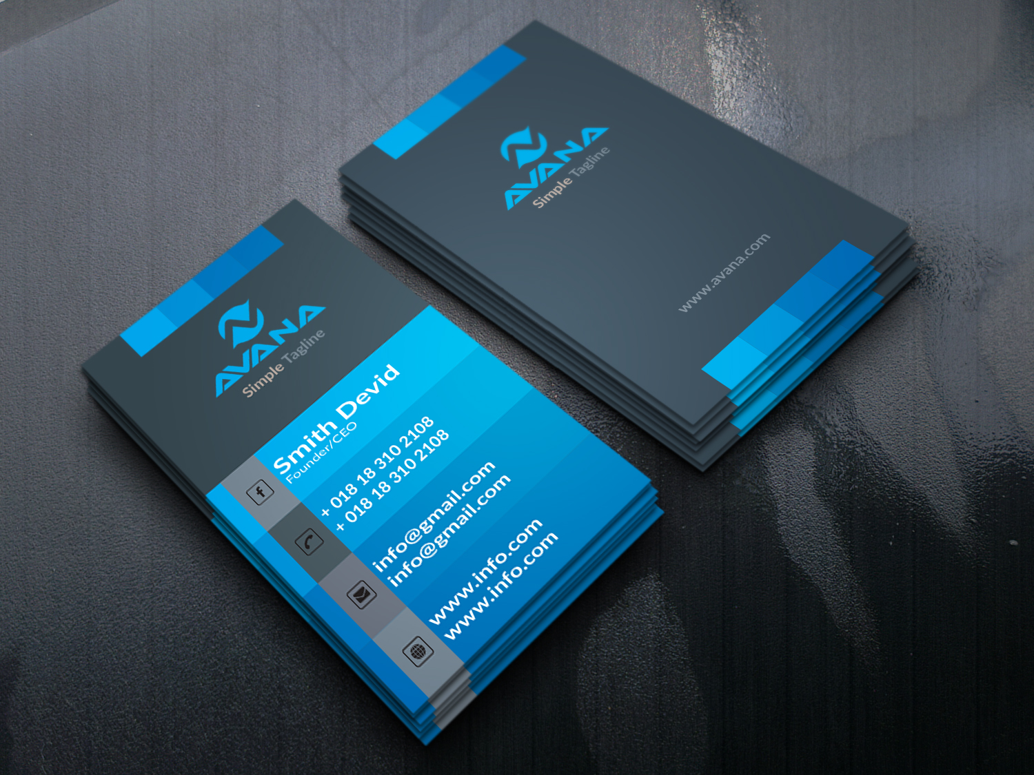 I will design Luxury Business Card for you any Style,  any shape