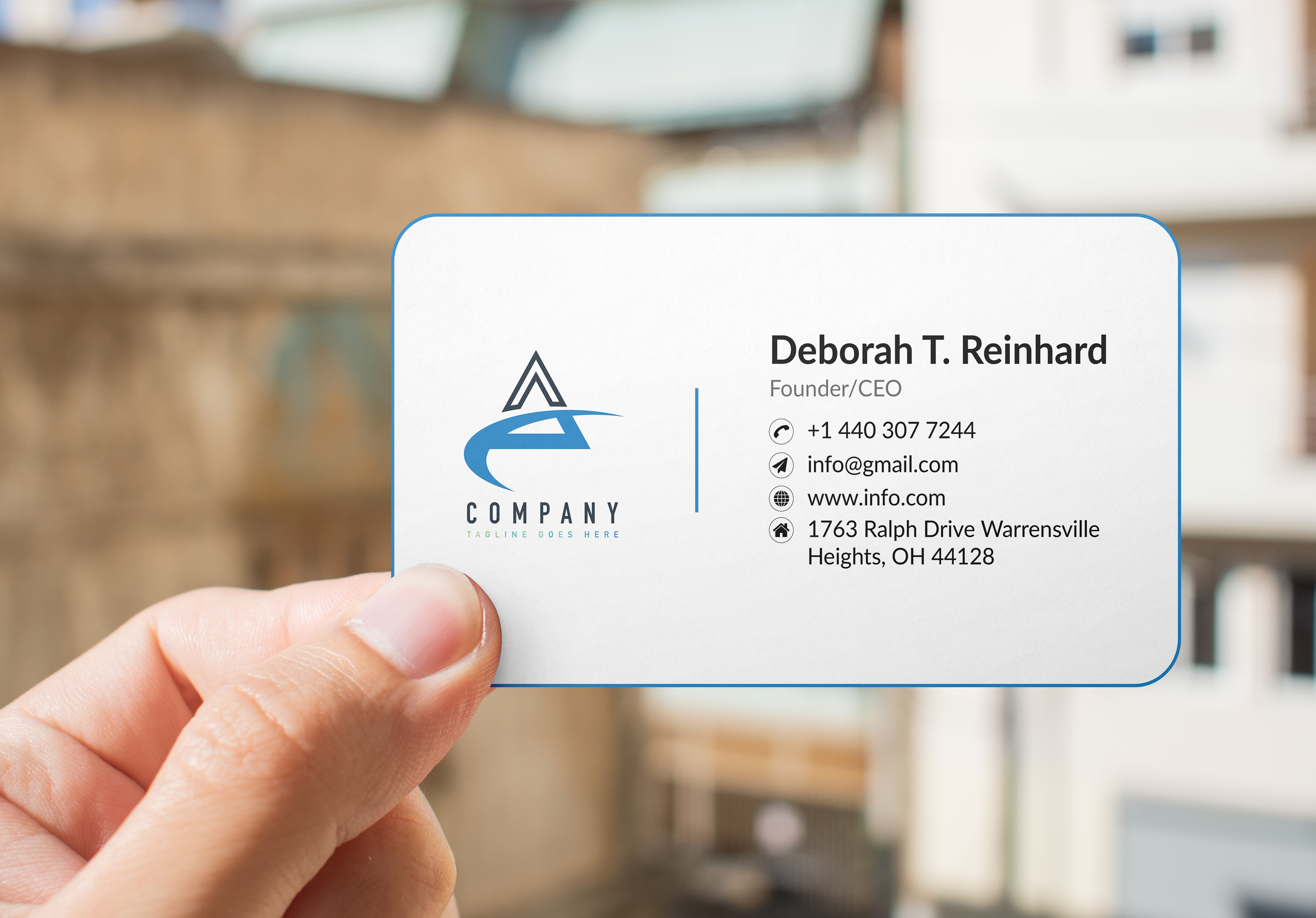 I will design Luxury Business Card design for you any Style,  any shape