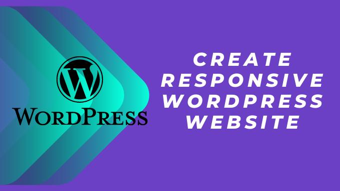 How To Create Blog website on Wordpress