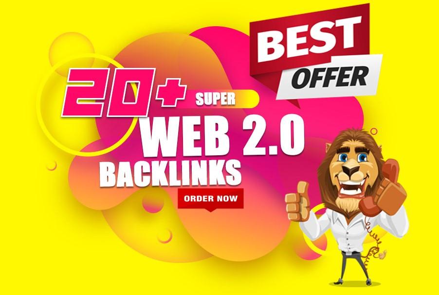 20 manually super buffer blog high authority Web 2.0 SEO Backlinks