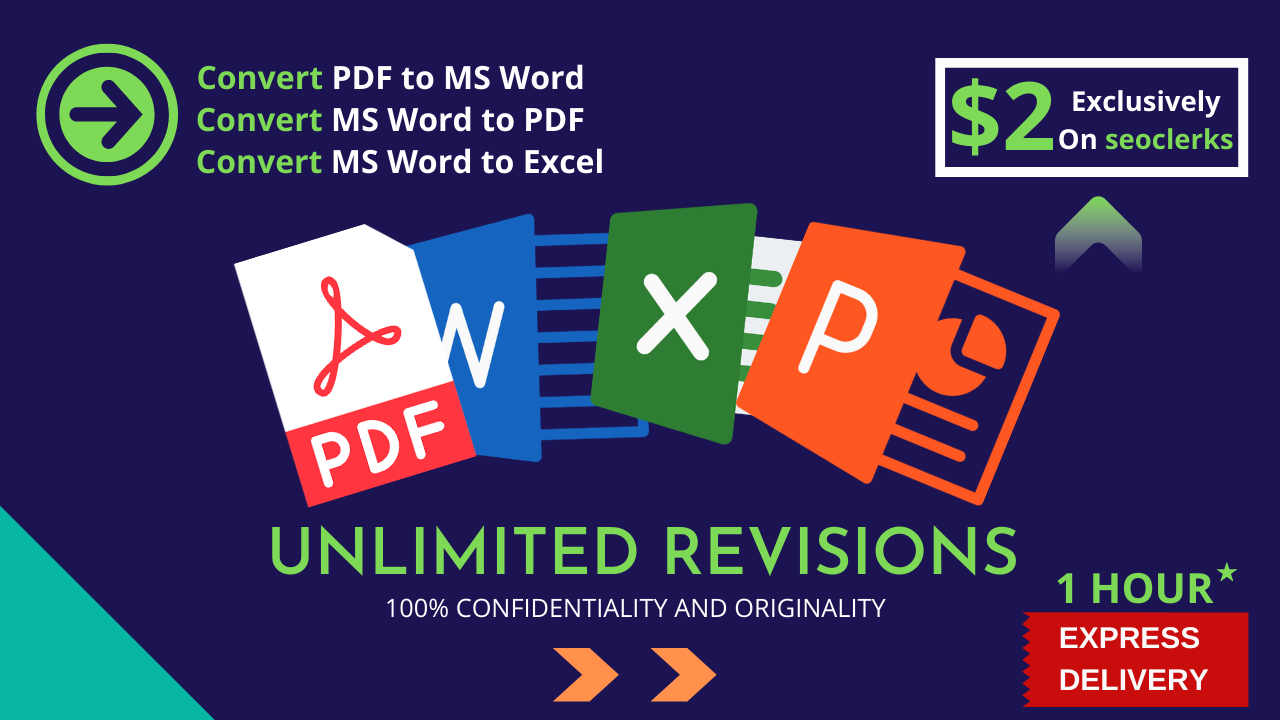 I will convert pdf to word and edit document