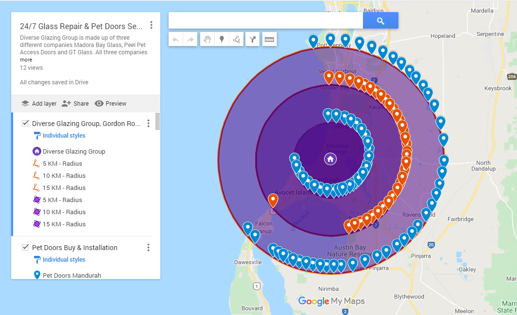 I will do google map stacking for local SEO ranking 100 map pointers with keywords