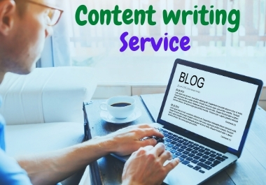 Write 300 words Articles / Content writing for your website or blog