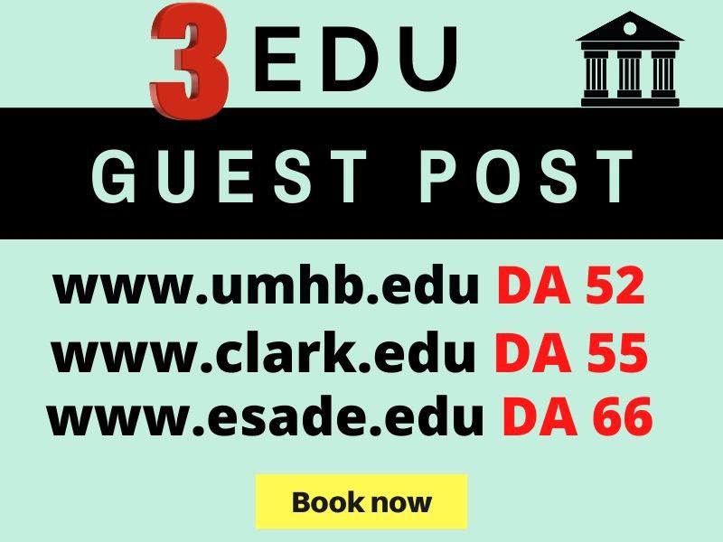 I will Write and Publish EDU Guest Post on Educational Websites with SEO optimized Content