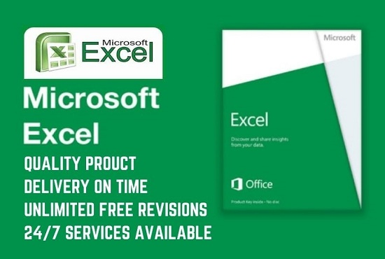 I will create excel spreadsheet,  formula,  graph in Microsoft office
