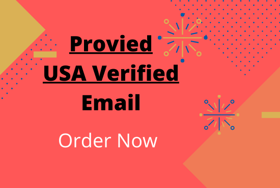 I will provied USA 1k verified email list for your business