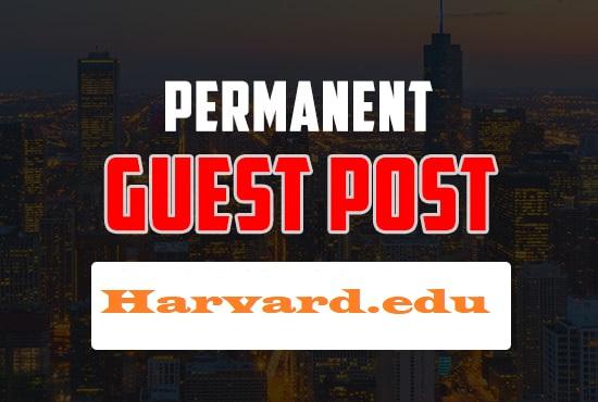 Guest Post On Harvard University -Harvard. edu DA95