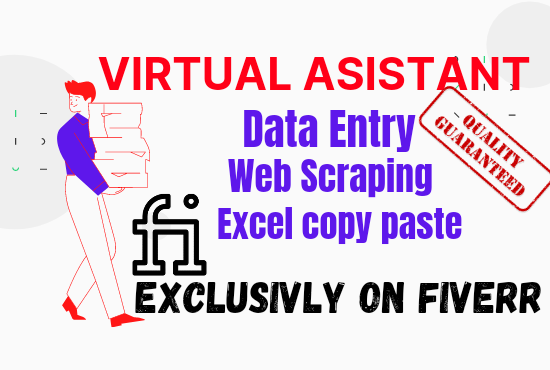 I will do professional Data Entry and Lead Generation Task for any USA, UK, Canada