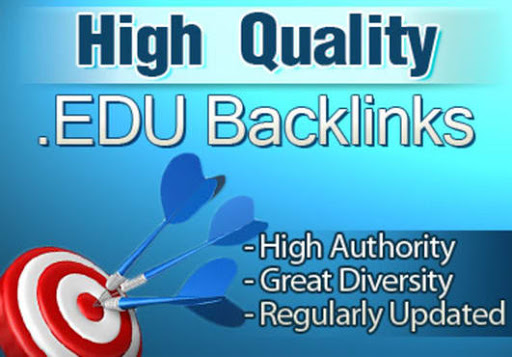 Get you 100. EDU High Authority Backlinks