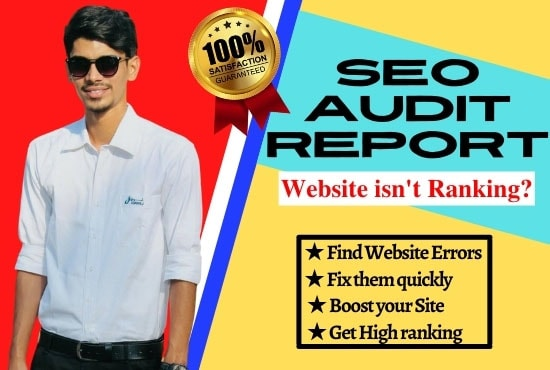 I will analyze your website and provide you a professional SEO Audit Report