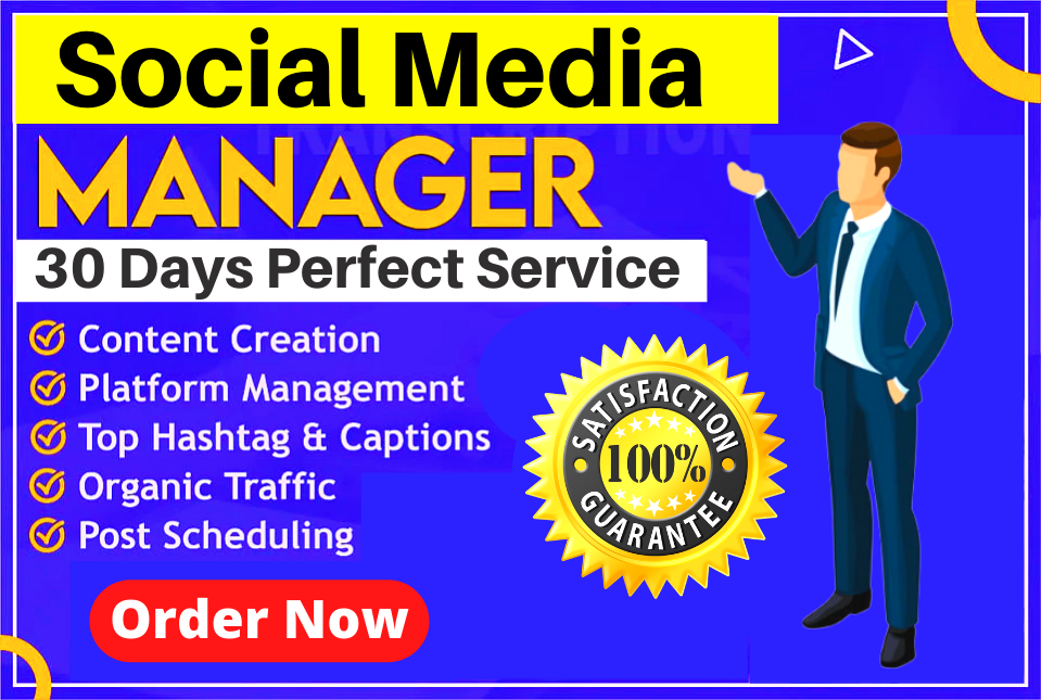 Your Expert Social Media Account Marketing Manager