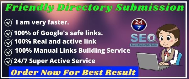 Submit 100 Friendly Directory Submission Service